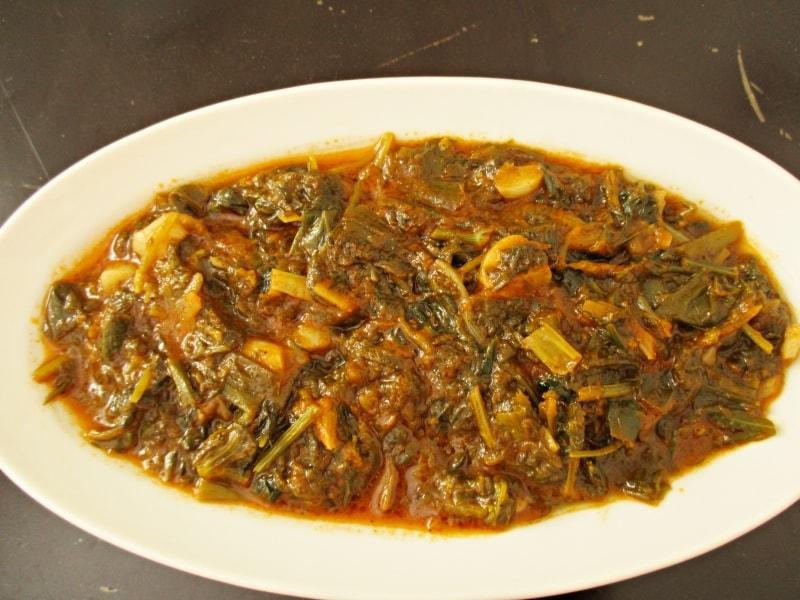 Τσιγαρέλι συνταγή άγρια χόρτα στο πιάτο