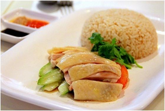 Cơm gà Hải Nam thơm ngon hấp dẫn