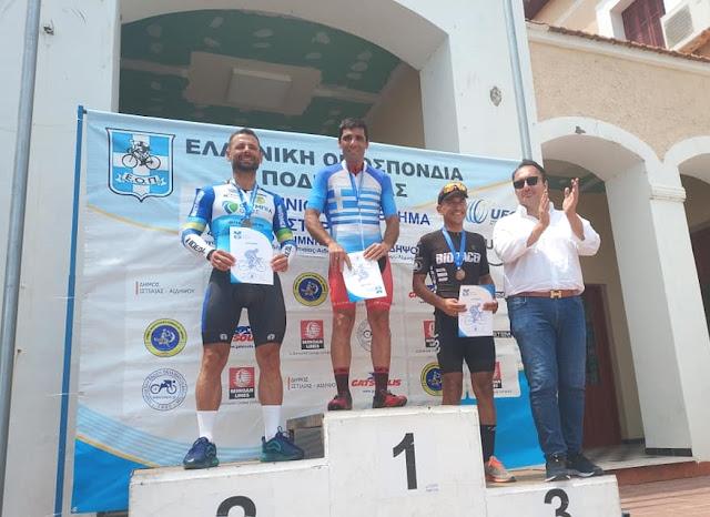 Ο Ποδηλατικός Όμιλος Καλαμάτας θριάμβευσε στο Πανελλήνιο Πρωτάθλημα Ποδηλασίας