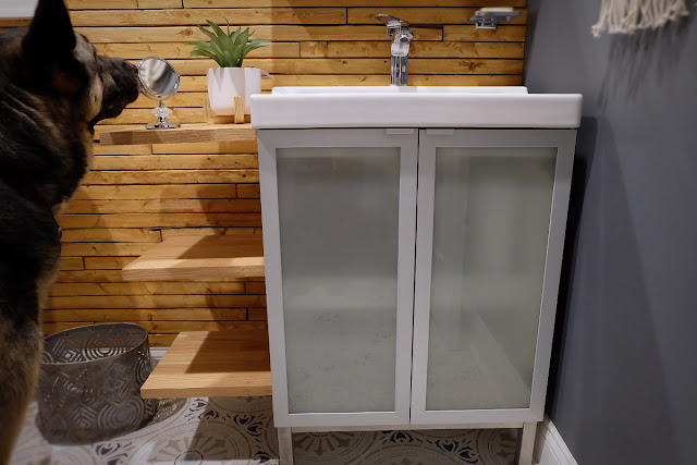 ikea bathroom cabinet vanity hack