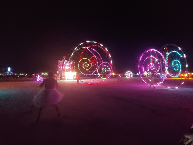 Burning man nightlife