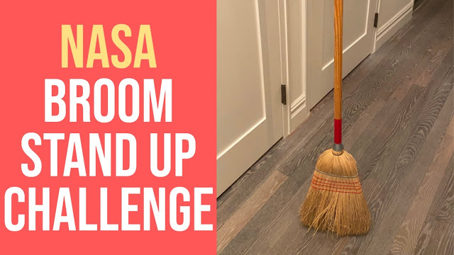 The Broom Standing up Challenge Explained