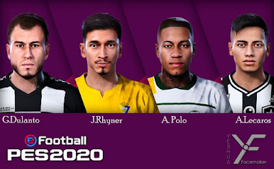 PES 2020 Facepack 1 by Yeshua Facemaker