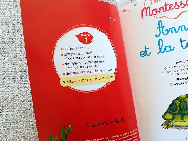 J'apprends à lire Montessori, Anna la tortue