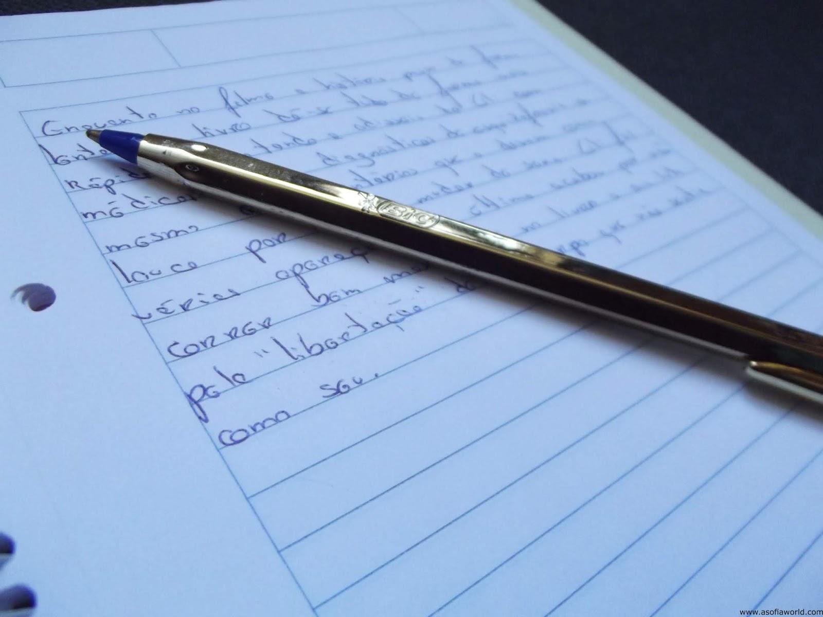 como escrever um livro~