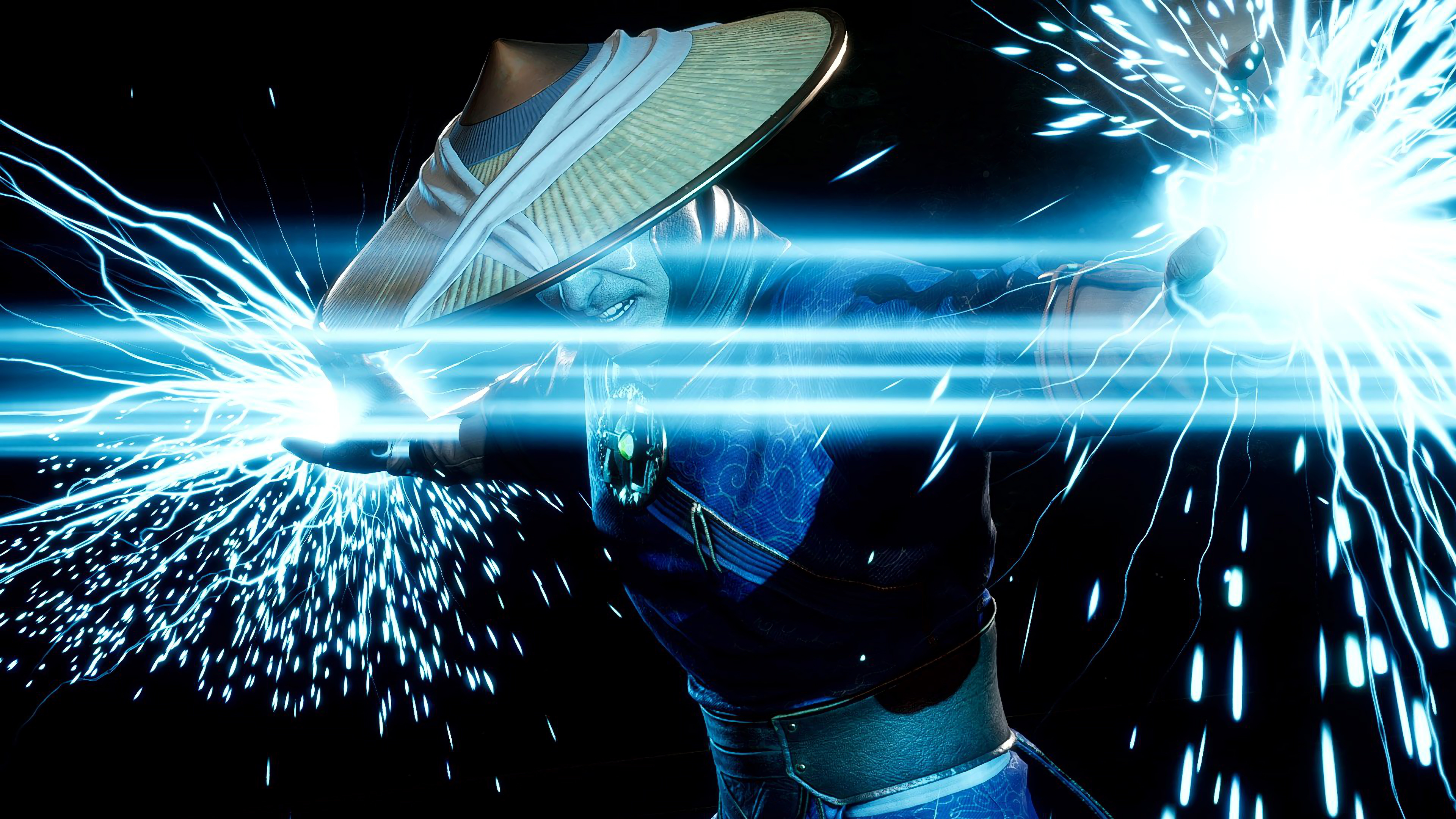 Raiden Lightning Mortal Kombat 11 4k Wallpaper 44