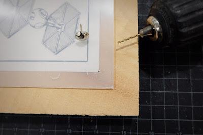 star wars printable framing picture DIY acrylic wood panel