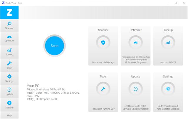 ZookaWare Pro 5.1.0.34 - Phần mềm diệt virut