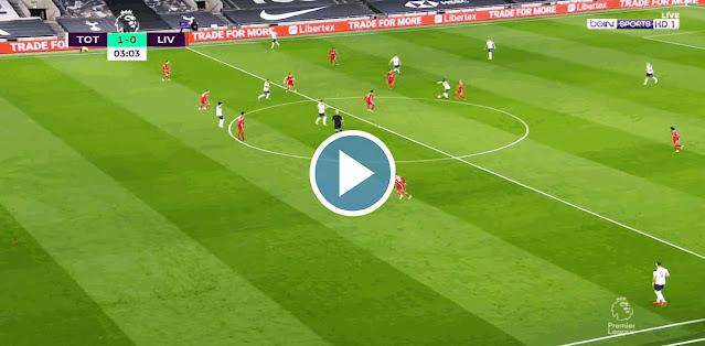 Tottenham vs Liverpool Live Score