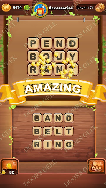 Word Bright Level 171 Answers, Cheats, Solutions, Walkthrough for android, iphone, ipad and ipod
