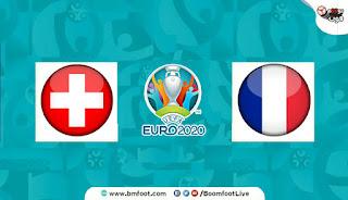 فرنسا وسويسرا بث مباشر اليوم
