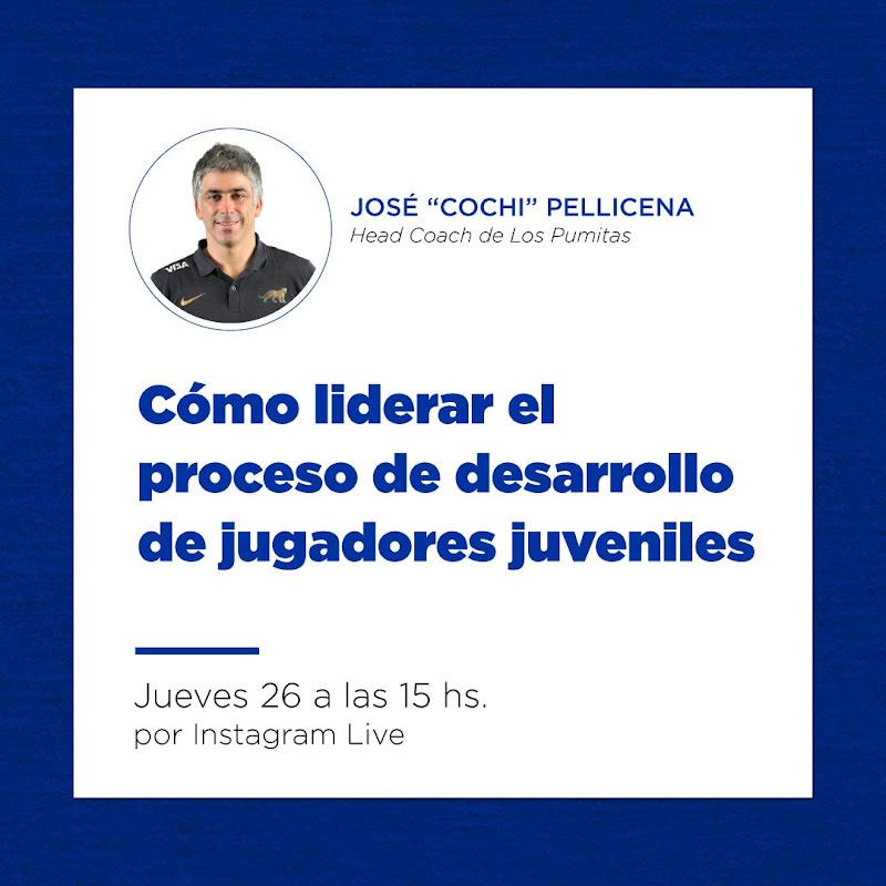 José Pellicena - Desarrollo de jugadores juveniles #CapacitacionesUAR