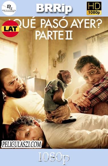 Que Paso Ayer 2 (2011) HD BRRip 1080p Dual-Latino