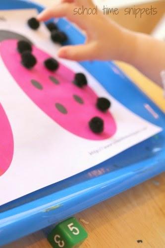 ladybug counting printable