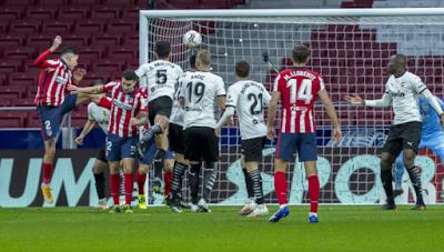 ملخص واهداف مباراة اتلتيكو مدريد وفالنسيا (3-1) الدوري الاسباني