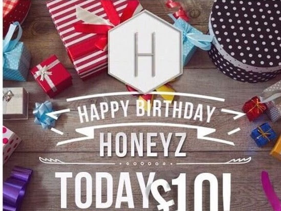 Honeyz.com £10 Day Event