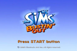 The Sims Bustin Outs PS2/PCSX2/Damon ISO [1.43 GB]