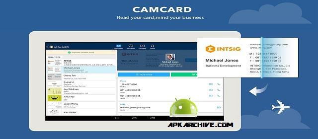CamCard – Business Card Reader APK indir