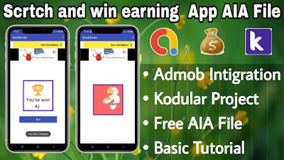 Scratch and Win App AIA File free download