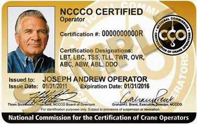 How to obtain NCCCO Certification