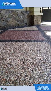Batu sikat minimalis diagonal