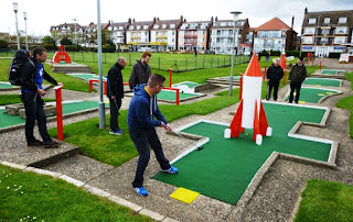 Arnold Palmer Crazy Golf in Skegness, Lincolnshire