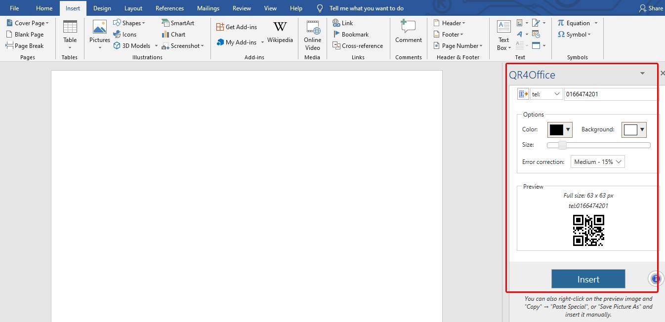 Cara Membuat QR Code Menggunakan Microsoft Word