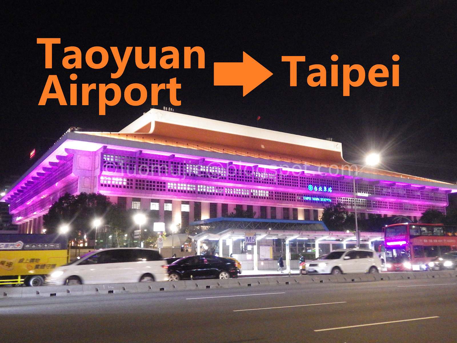 Taoyuan Airport to Taipei