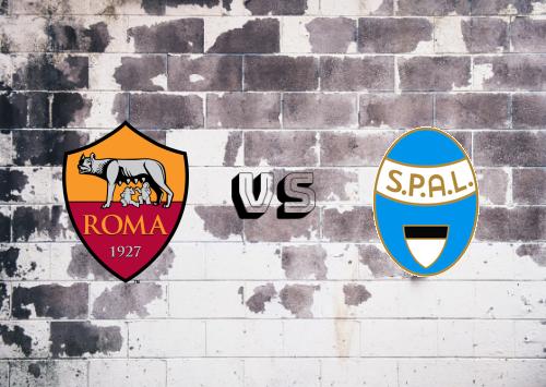 Roma vs SPAL  Resumen