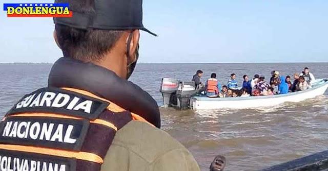 GNB evitó que 30 balseros de Tucupita se refugiaran en Trinidad y Tobago