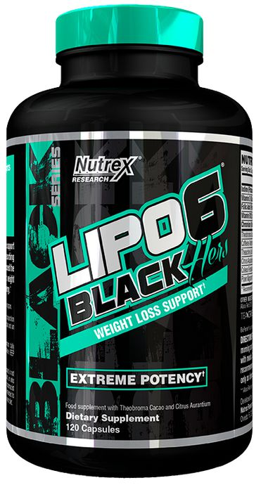 SUPLEMENTOS DEPORTIVOS: LIPO 6 BLACK HERS EXTREME POTENCY