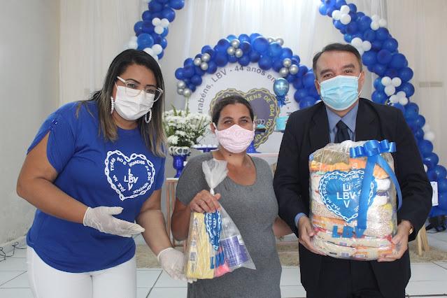 Blog do Salatiel: LBV - 44 anos de trabalho, no amparo às famílias  vulneráveis no RN