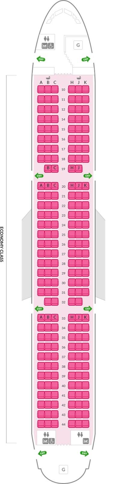 아시아나항공 A321 200석