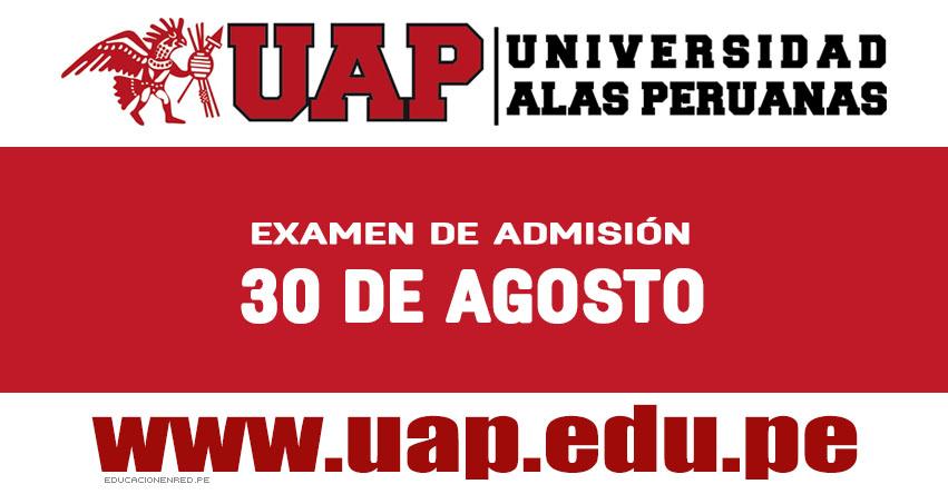 Resultados UAP 2019-2 (Viernes 30 Agosto) Lista de Ingresantes - Examen de Admisión Ordinario - Universidad Alas Peruanas - www.uap.edu.pe