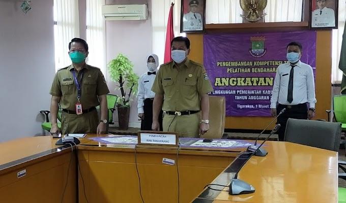 Sekda Kabupaten Tangerang Buka Diklat Kompetensi Teknis Bendahara Bos