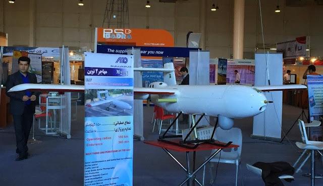 الطائرة بلا طيار الايرانية الدرون الايراني   UAV  Iranian Drones   مهاجر-2 / Mohajer-2n