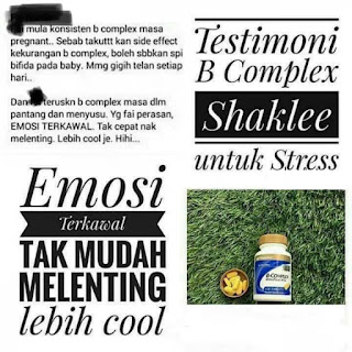 Kebaikan dan Testimoni B-Complex Shaklee Untuk Ibu Hamil
