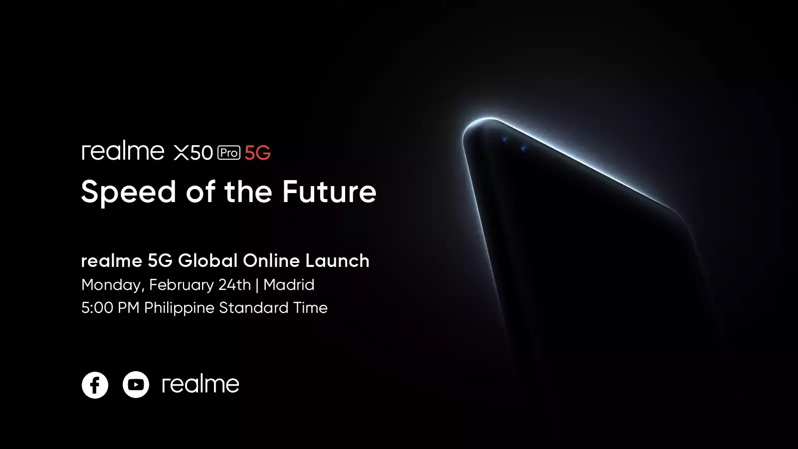 realme X50 Pro 5G Live Stream Announcement