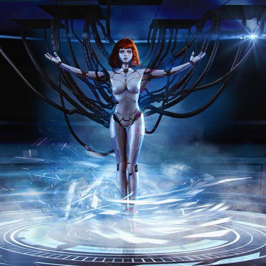 Oliver Wetter artstation deviantart arte ilustrações fantasia ficção científica mulheres cyber photoshop