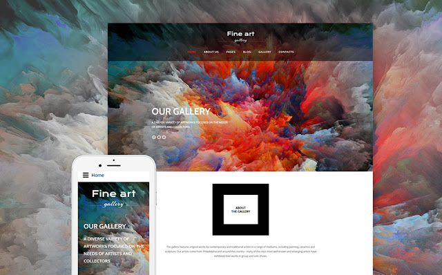 Art Gallery Joomla Theme
