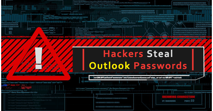 Hackers Steal Outlook Passwords Via Overlay Screens on Legitimate Sites