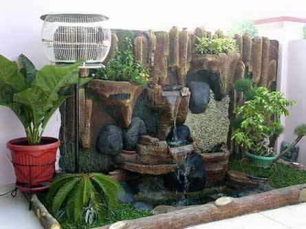 PEMBURU SEPIT BIRU Koleksi Kolam Ikan hiasan rumah