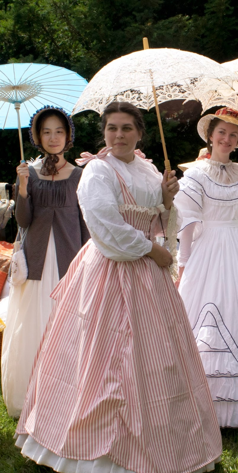 a7bbf058881 The Challenge The Politics of Fashion Fabric  Cotton Sateen Pattern  My  own! Year  1864 ish. Notions  Lace