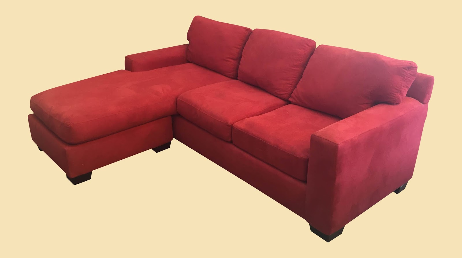 red microfiber sofa high quality sofas uk uhuru furniture and collectibles 2 piece