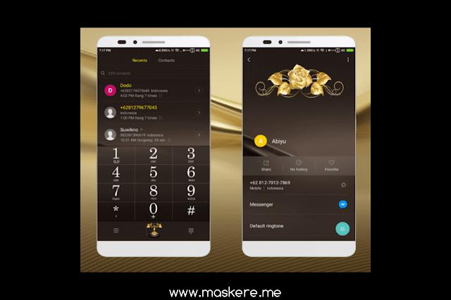 Tema Xiaomi Lux (Huawei Honor) MIUI 8