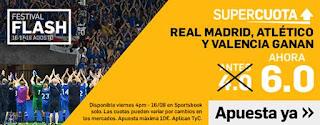 17-8-2019 Real Madrid, Atlético y Valencia ganan. Antes 4.2 Ahora 6.0