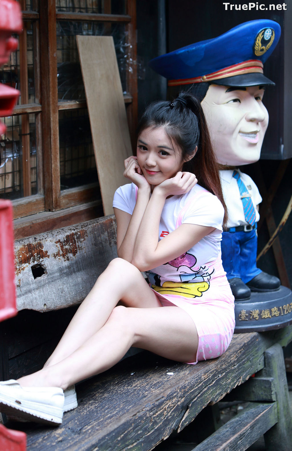 Image Taiwanese Model - 黃旺旺 - Lovely and Naughty Girl - TruePic.net - Picture-7