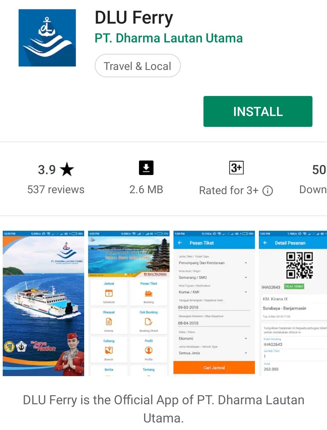 Hindari Calo Pt Dlu Luncurkan Aplikasi Pembelian Tiket