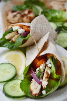 Greek Chicken Wraps