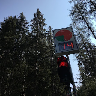 Il semaforo di Passo Stalle